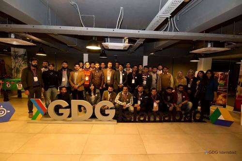 GDG Islamabad DevFest 2017 Group Photo